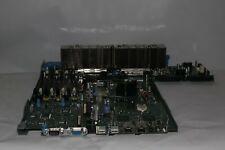 DELL CW954 0CW954 MOTHERBOARD W/ 2X INTEL XENON DUAL CPU & HEATSINK FOR PE 2950