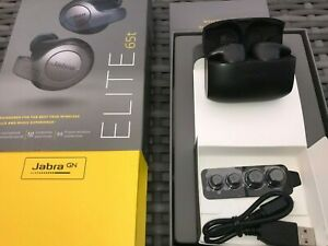 Jabra Elite 65t True Wireless In-ear Headphones Earbuds 4 Mic Ap Black Titainium