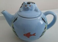 More details for wade england whimsical cat kitten tea pot feline collection,vintage rare