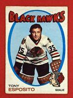Tony Esposito 1971-72 O-Pee-Chee #110