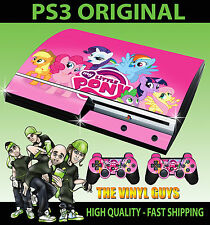 PLAYSTATION PS3 OLD SHAPE STICKER MY LITTLE PONY RAINBOW DASH SKIN & 2 PAD SKINS