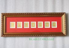 Feng Shui 7 SEVEN Royal Emblems Plaque PROTECT YOUR FAMILY Auspicious Gift