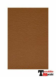 """Marine Vinyl Fabric Saddle Brown 15 Yards Outdoor Car Boat Upholstery 54"""" Wide"""