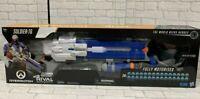 Nerf Overwatch Soldier 76 Rival Blaster Fully Motorised Brand New