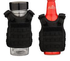 Military Mini Vest Beverage Soda Beer Bottle Coozie Coolie Koozie Cooler Cover