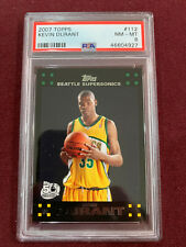 Kevin Durant 2007 Topps Rookie Card RC PSA 8 NM-Mint