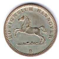 Hannover Georg V. (1851-1866) 1 Groschen 1858 B. AKS 149,J.93, vz-