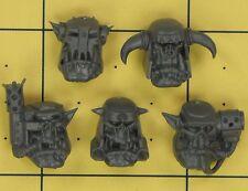 Warhammer 40K Space Orks Nobz Heads (B)