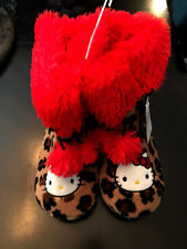 NEW Youth Hello Kitty Character Slippers S (5/6). Warm Gift Kid Boy Girl. NWT