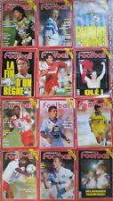b)Lot de 12 France Football année 1991