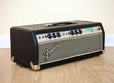 1967 Fender Bassman Drip Edge Silverface Tube Amp Head AB165 Blackface