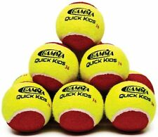 Gamma Quick Kids 36` Tennis Ball (12-Ball Pack, Yellow/Red) , New, Free Shipping