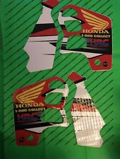 Cr 500 1989-2001 Graphics Decals Kit Set Hrc 1800 Collect Honda Super Evo