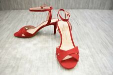 Chinese Laundry Rosita Dress Heels, Women's Size 8M, Red Suede NEW
