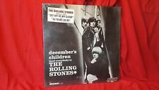 "Rolling Stones ""December's Children"" 1965/66 MONO SEALED w/hype sticker, promo"