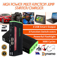 Power Bank Charger USB, Laptop, MP3, Phones, MULTIFUNCTION Jump Starter,Torch