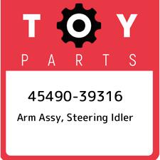 45490-39316 Toyota Arm assy, steering idler 4549039316, New Genuine OEM Part