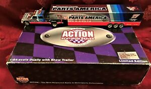 DARRELL WALTRIP #17 Parts America Chrome 1/64 Chevy Dually Chaparell 1 of 4000