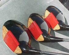 OVERSIZE Ping Eye Golf Clubs Refinished Set Woods Driver 3 5 w New Lamkin Grips