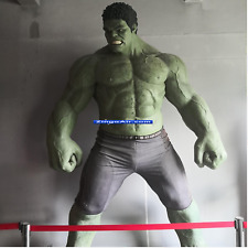 25' Life Size Incredible Hulk Marvel Wax Statue Actor Prop Display Style 1:1
