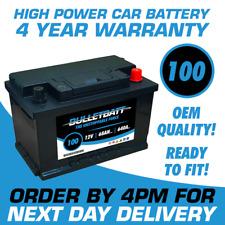 BulletBatt Heavy Duty 12V Car Van Battery Type 100 / 096 72ah - 4 Year Guarantee
