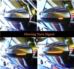 LED Light Side Dynamic Sequential Mirror Signal FOR AUDI A3 S3 RS3 8V 2013-2020