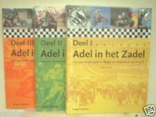ADEL IN HET ZADEL DEEL 1 T/M 3, ROADRACE, MOTOCROSS,GP,GEBOERS,EVERTS,FRANCORCHA