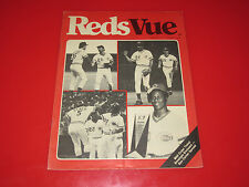 1980 Cincinnati Reds Baseball RedsVue Vue Program Tickets November Vol.3 No.1