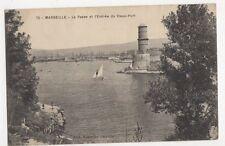 France, Marseille, La Passe et l'Entree du Vieux-Port Postcard, B221