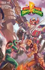 2 BOOK SET!! MIGHTY MORPHIN POWER RANGERS #1 & #2 REGULAR COVERS BY BOOM COMICS