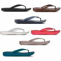 FitFlop IQUSHION™ Ladies Womens Summer Beach Soft Ergonomic Toe Post Flip Flops