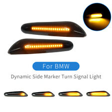 Led Dynamic Side Marker Turn Signal Light For Bmw X1 X3 1 3 5 Series E46 E60 E90