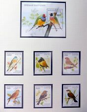 TOGO 1961-96 Beautiful Birds on 5 Pages U/M NF116