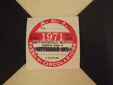 Imposta ITALIANO DISCO 1971-FIAT 500 600 126 LANCIA BETA GIULIETTA ALFA GTV6 ABARTH