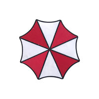 Umbrella Corp Logo Patch Iron On Sew On Badge Embroidered Patch