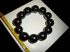 DINO: 12 Polished Med. MAGNETIC HEMATITE SPHERES - 228 gr.