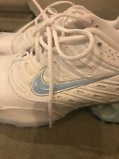 Nike Running Leather Shox  Blue Sneakers 9M
