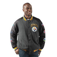 Pittsburgh Steelers Super Bowl Champions Home Team Varsity Commemorative Jacket