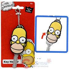 Simpson Family Homer Face Key Cap Key Holder Silicone Rubber Key Holder