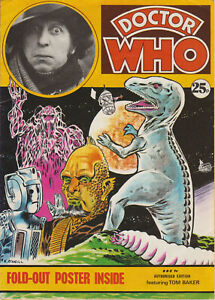 VERY RARE: Doctor Who Poster Magazine, 1974. GC+