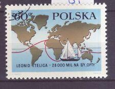 Polen Nr.  1924 gest. Weltumseglung von Leonid Teliga    -3-