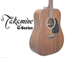 TAKAMINE MAHOGANY GD11MNS ACOUSTIC STEEL STRING DREADNOUGHT GUITAR *BRAND NEW*