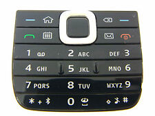 ORIGINALE Nokia e75 e 75 Tastiera Keypad Tastiera Tasti Opaco Tappetino Nero