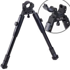 "8""-10"" Clamp-on Spring return Bipod with Posi-Lock for Rifle Hunting Aluminum"