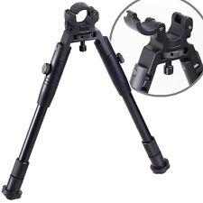"8""to10"" Steel Stand low profil Airgun Rifle Bipod Adjustable Swivel Stud Mount"