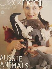 Cleckheaton Aussie Animals Knitting Pattern Book No 977