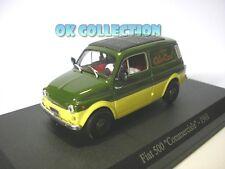 "1:43 FIAT 500 COMMERCIALE ""OLIO CARLI"" - 1968 _ (108)"