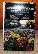 **The Sunday Gardener, Alan Gemmell, Signed by himself! 1973 1st edition SIGNED!