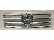 96 97 98 99 Mercedes Benz E Class W210 Style CL Grille Silver Grill
