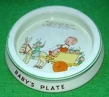 Baby Bowl Shelley Mabel Attwell Boo Boo's Donkey Cart